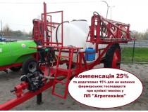 Опрыскиватель прицепной ОРП-2000/18 на колёсах R 9.5-42