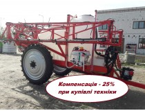 Опрыскиватель прицепной ОШШ-3000/18