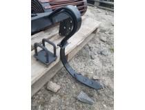 Лапа пружинная культиватора сплошной обработки с креплением