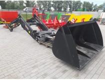 Фронтальный погрузчик на ЮМЗ трактор фирмы Beromet