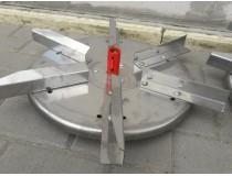 Тарелка на 6 лопастей для разбрасывателя удобрений 300, 500 кг