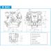 Насос мембранно-поршневой D-243 фирмы Imovilli pompe (Италия)